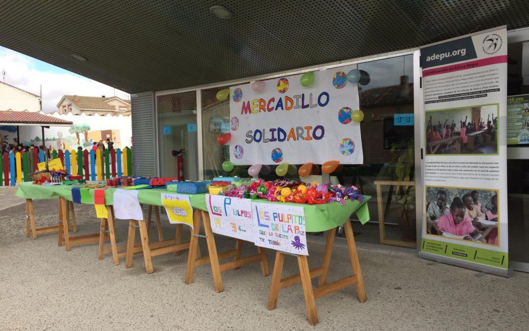 Mercadillo Solidario en Hontanares