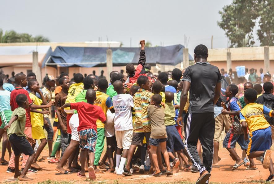 Cuando en el deporte… ¡todos «Ghanan»!