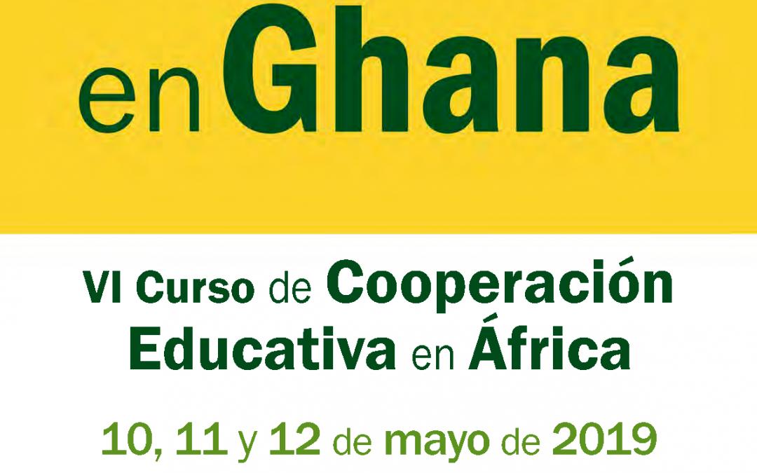 VI Curso de Cooperación Educativa en África