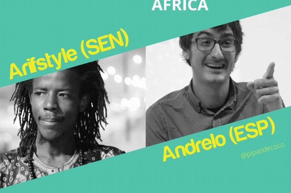 Recital de poesía automágica por África